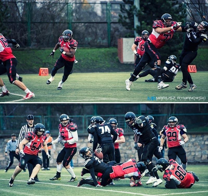 Giants Wrocław vs Rebels Katowice