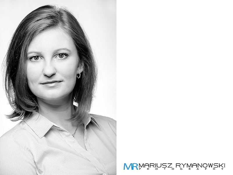 Zdjęcie portretowe Kobieta Sesja korporacyjna